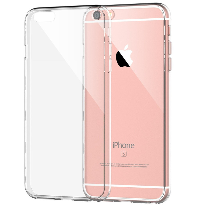huge discount ecd58 8466d For Apple iPhone 6 6s Case Slim Crystal Clear TPU Silicone Protective  sleeve for iPhone 6 plus / 6s plus cover cases