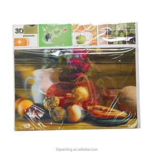 KITCHEN CUPBOARD Quality PP Table Mats for Home, Holiday Collection Light Kitchenware
