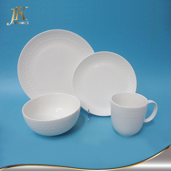 16-Piece Dinnerware Set Kitchen Dinner Service Sets Banquet Serving Dishes Bowls