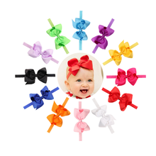 Wholesale Infant Headband Elatic Hair Band Baby Hair Bow