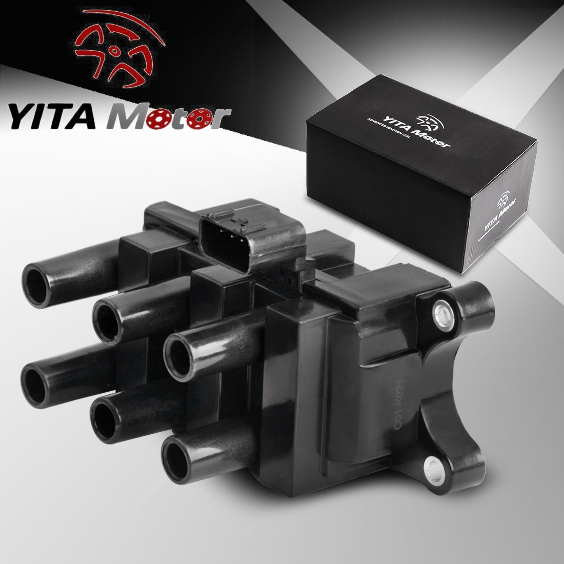 YITAMOTOR Ignition Coil for Ford Mazda Mercury V6