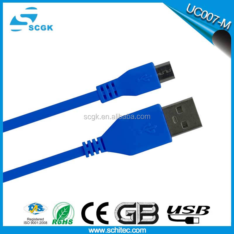 Short-time charging High efficiency electrical conversion micro usb cable bulk