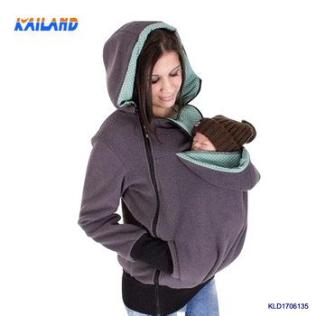 c3e87d4e2ae8e Kailand Comfortable Winter Maternity Clothes Baby Carrier Coat Nurse Dress  for Pregnant Women