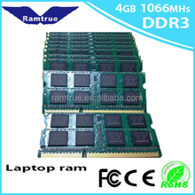 Brand and model number CPU 8gb ddr3 ram for laptop price sodimm