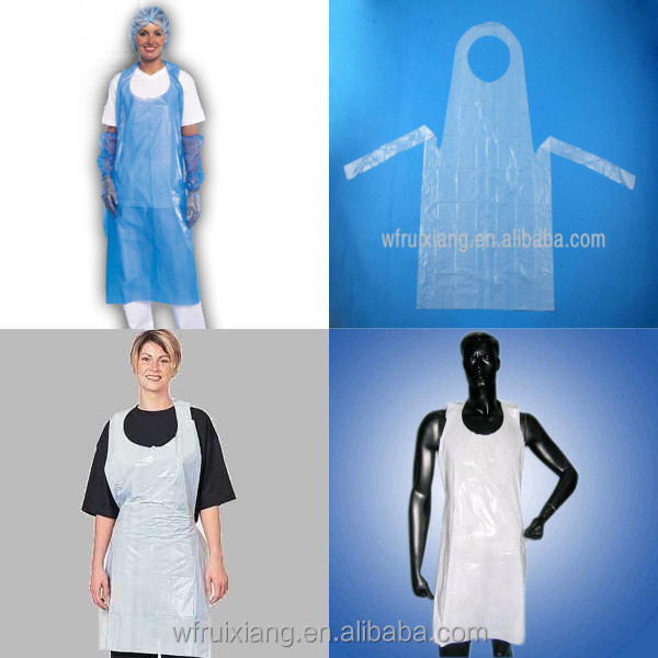 Sample free pe plastic uniform for beauty salon buy for A class act salon