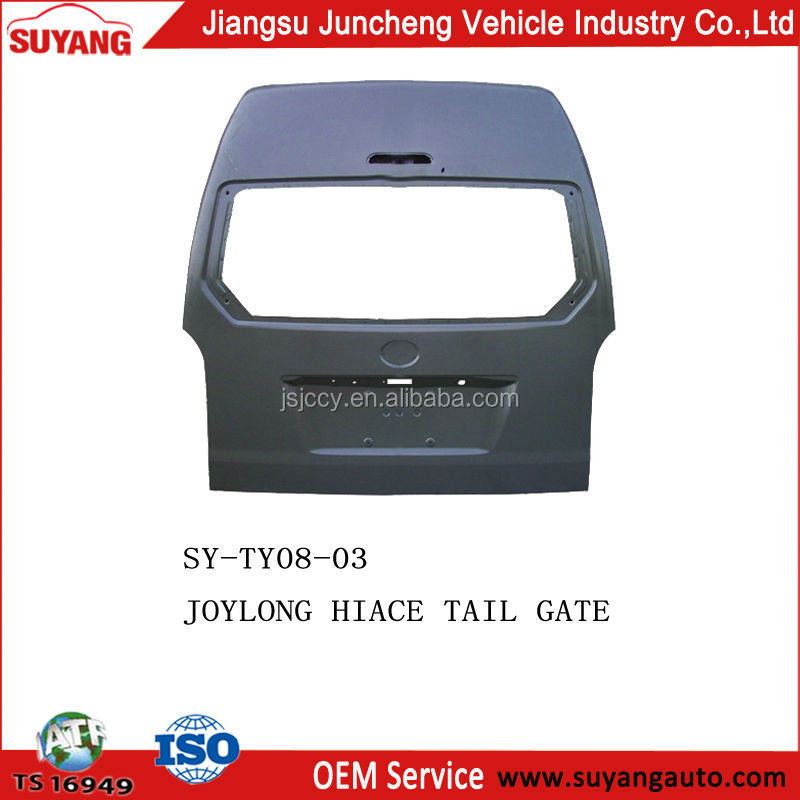 Joylong Hiace Bus Parts Tailgate For Replacement Body Parts