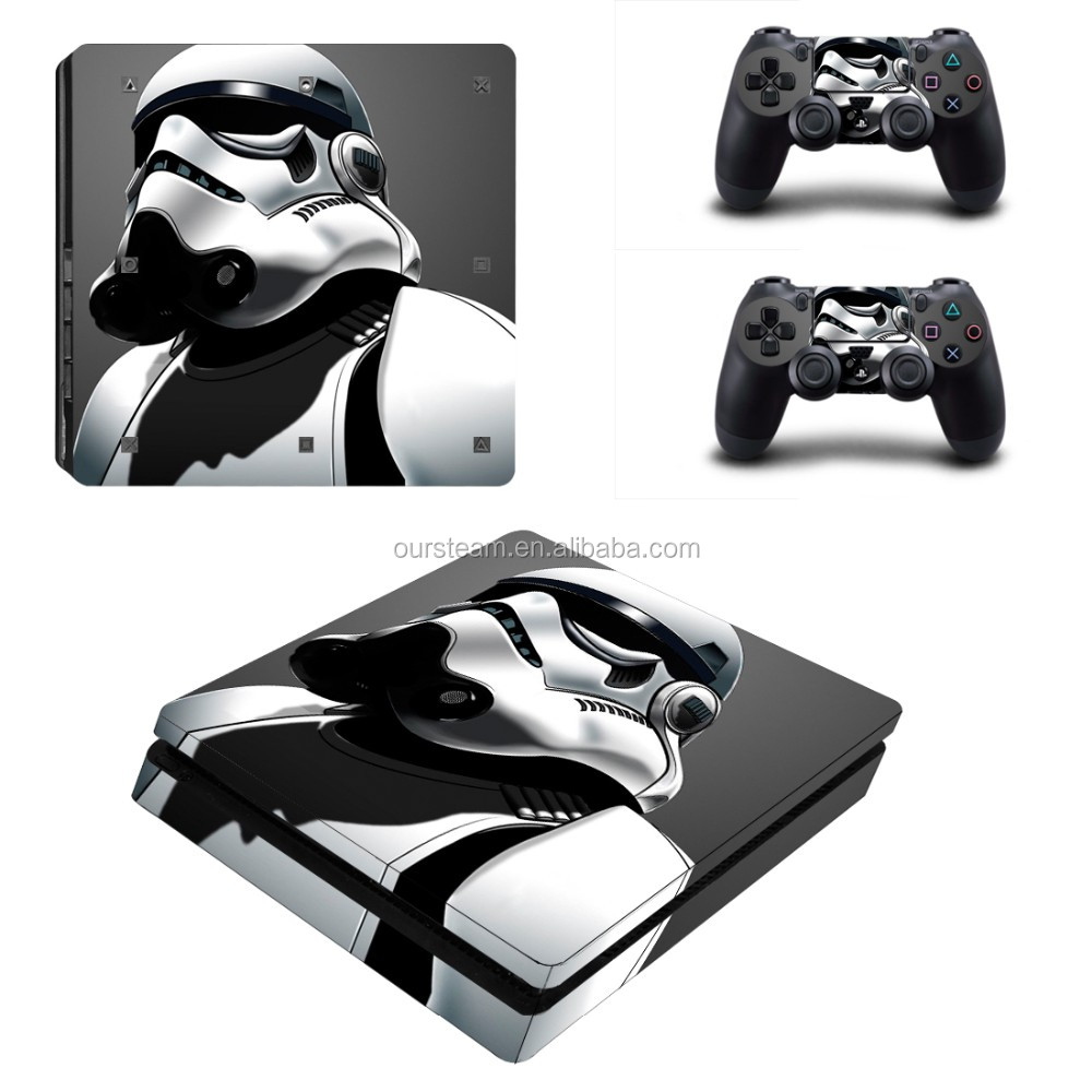 Video Game Accessories Ps4 Slim Sticker Console Decal Playstation 4 Controller Vinyl Skin White