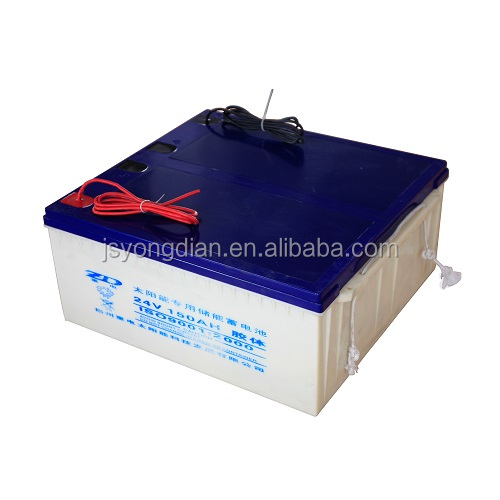 solar battery 24v 150Ah battery solar power battery