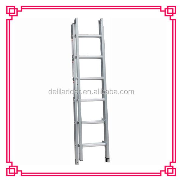 Grueso de aluminio escalera doble funci n escalera - Escaleras de aluminio precios ...