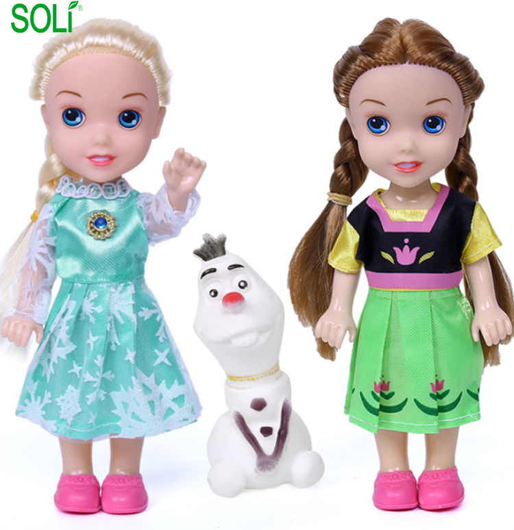 Frozen Princess Toy Anime figure kids figure <strong>doll</strong>