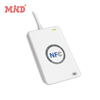 White NFC ACR122U RFID smart card reader