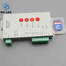 DC5-24v rgb pixel led controller programmable support ws2811 ucs1903 IC