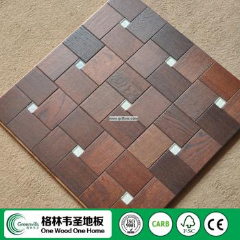 Made In China Oak Parquet Floor Tiles In Wood Design Buy Floor