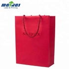100% Recycle Christmas gift luxury paper shopping bag
