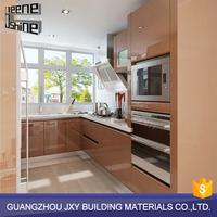 OEM modern modular ready made kitchen cabinets made in china