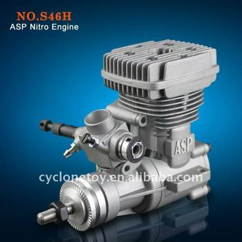 Asp S46h 2 Stroke/two Stroke Nitro Engine For Rc Helicopter - Buy