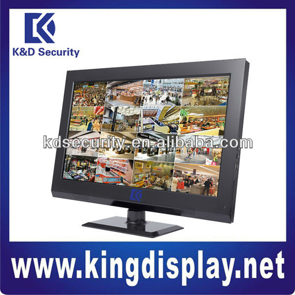 "16channel LINUX 4CIF 22"" LCD Combo Network DVR for ptz cctv camera"