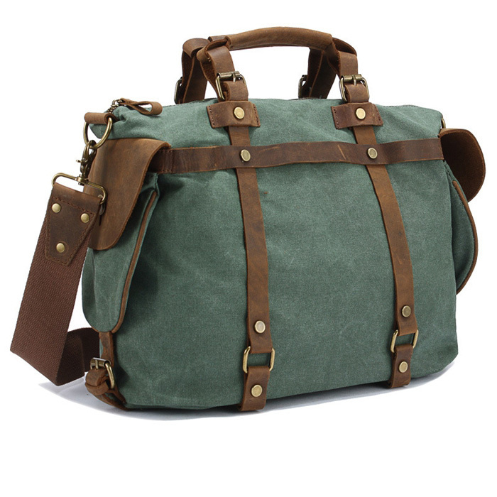e40a7450e12 Get Quotations · new 2015 hot sale men s travel bags, men genuine leather+Canvas  messenger bag,