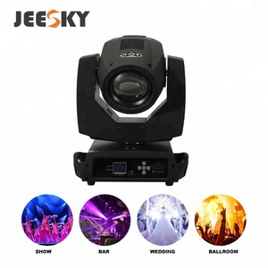 2018 JEESKY Y002 230W cheap led beam rgb moving head lighting