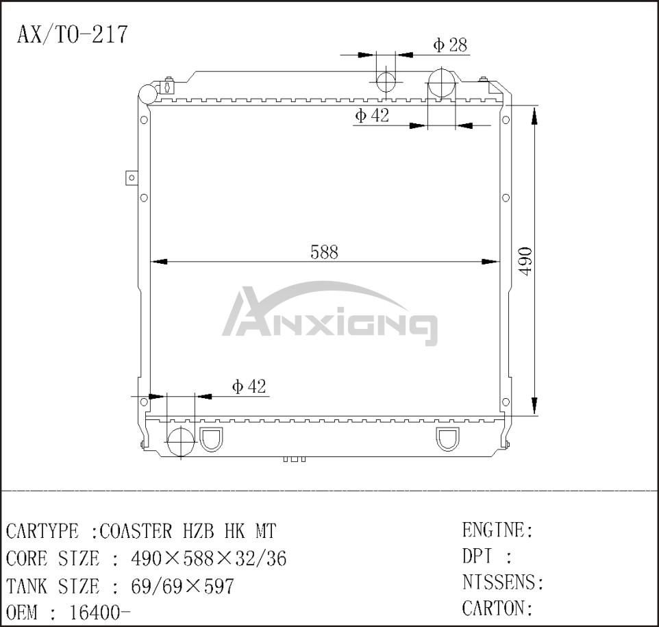Design of a car radiator - Japanese Car Radiator Japanese Car Radiator Suppliers And Manufacturers At Alibaba Com