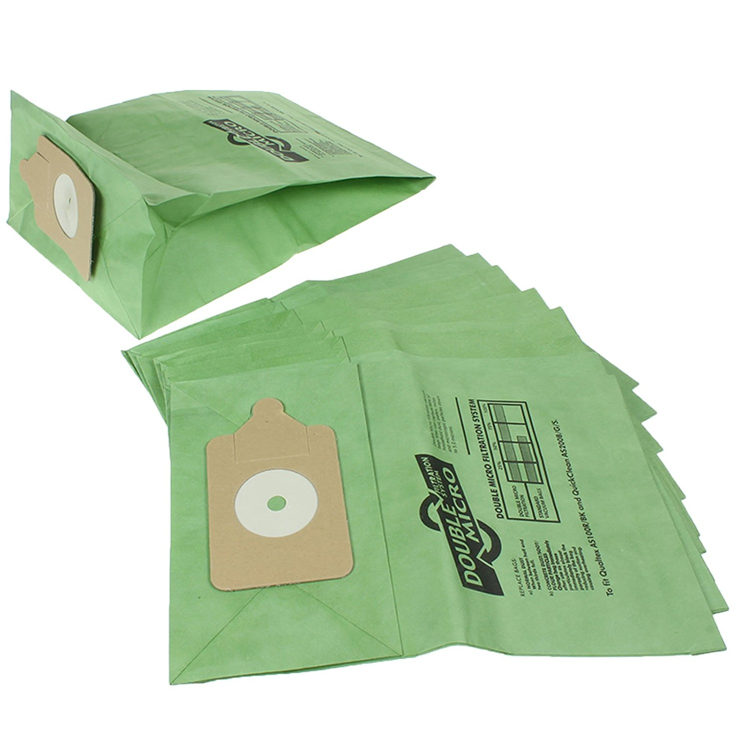 First4Spares Premium Multi Layer Paper Dust Bags for Numatic Henry Hetty Canister Vacuum Cleaners