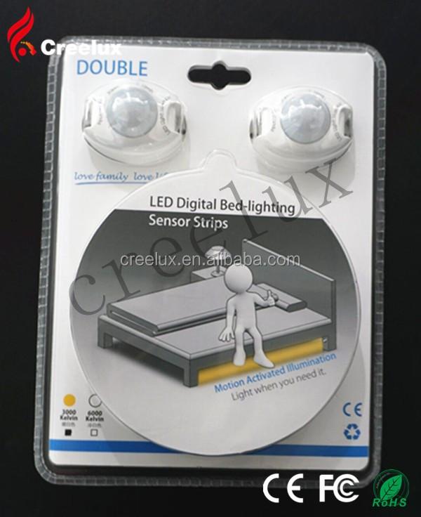 Led Strip Light Under Bed Night Motion Sensor With 3w 2