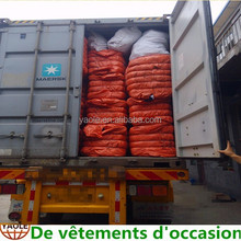 used clothing export used cloths and shoes in container