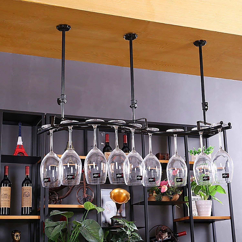 Wine Glass Rack,Shelf Wine Glass Holder,Wine Glass Rack, Champagne Glass Rack,Glassware Rack Wine Rack,Goblet Glass Rack,Glassware Wine Rack, wall wine racks (Color : C)