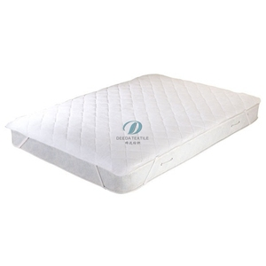 Deeda factory polyester quilt elastic hotel collection mattress protector / mattress covers