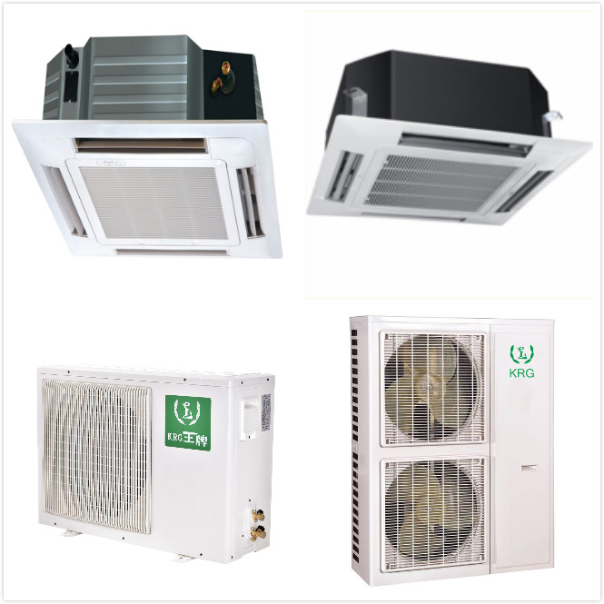 Heat pump air conditioning innovation VRV VRF central aircon ceiling cassette air conditioner
