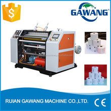 Small Scale Manufacturing Fax Thermal Paper Roll Slitting Machine