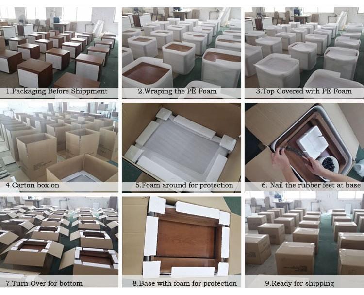 Ebony Modern Dining Set / Classic Italian Dining Room Sets / New Style  Dining Table Set