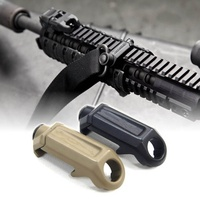 RAS QD Rail Steel Mount Strap Loop Adapter Hunting Quick Release Rail Steel Attachment For Tactical Sling
