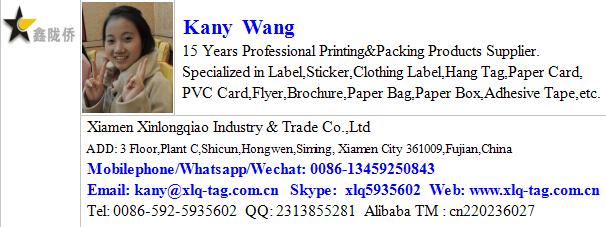 Custom Printed Tea Paper Packaging Bag Sticker Kraft Label