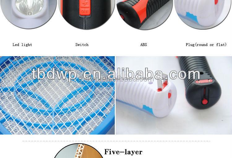 lectrique moustique tapette insecte raquette moustique pi ge avec led lumi re autres appareils. Black Bedroom Furniture Sets. Home Design Ideas