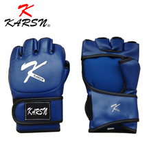 <span class=keywords><strong>MMA</strong></span> Muay Thai Training Punching Bag Half Mitts Sparring Boxing Gloves