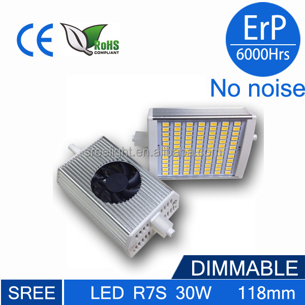 300w Halogen Led Replacement R7s Led 118mm Dimmable 60w 30w R7s ...
