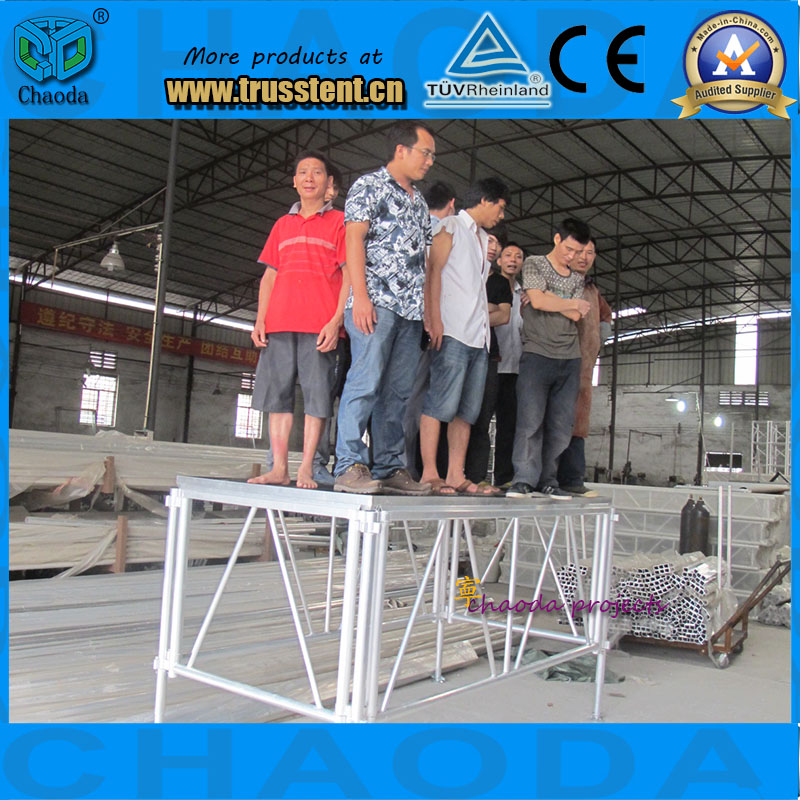 New Design Adjustable Compact Portable Aluminum Outdoor Performance Stage