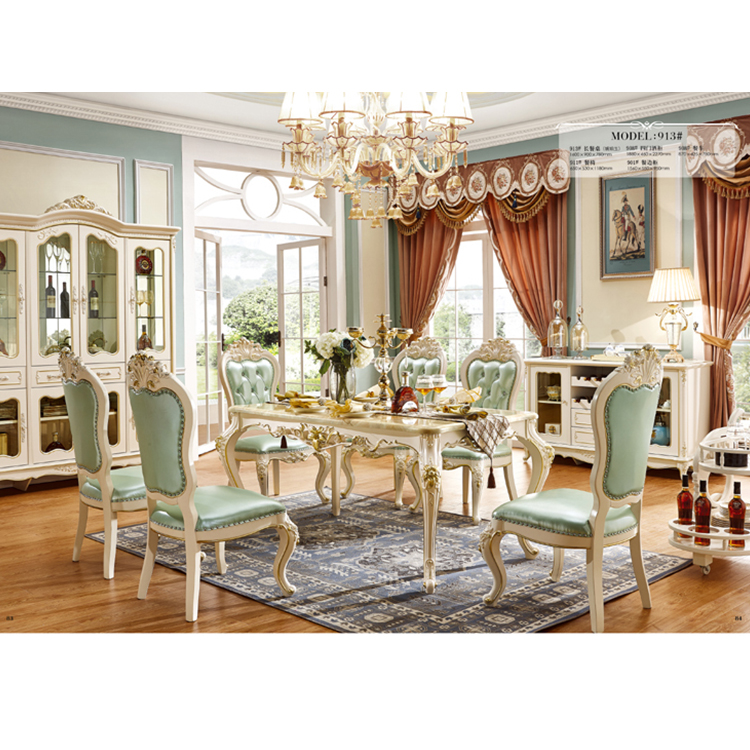 Procare Marble Dining Table With 6 Chairs Dining Room Set - Buy High  Quality Top Marble Dinning Table Set,Long Marble Dining Table Set,Marble  Living ...