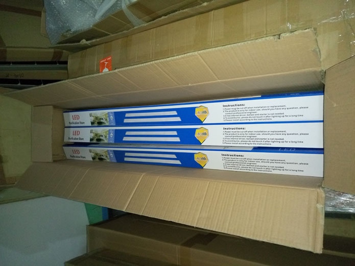 20 w 40 w led tubo piatto, led batten luce, ha condotto la luce lineare