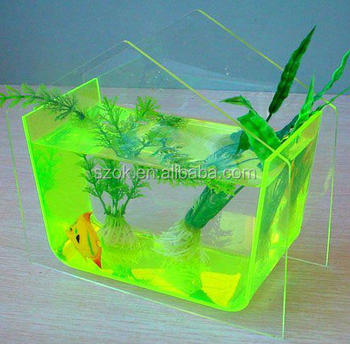 Clear different shapes high quality acrylic fish tank for Acrylic fish tank diy