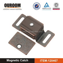 New design Aluminum & Plastic magnetic catch with plate