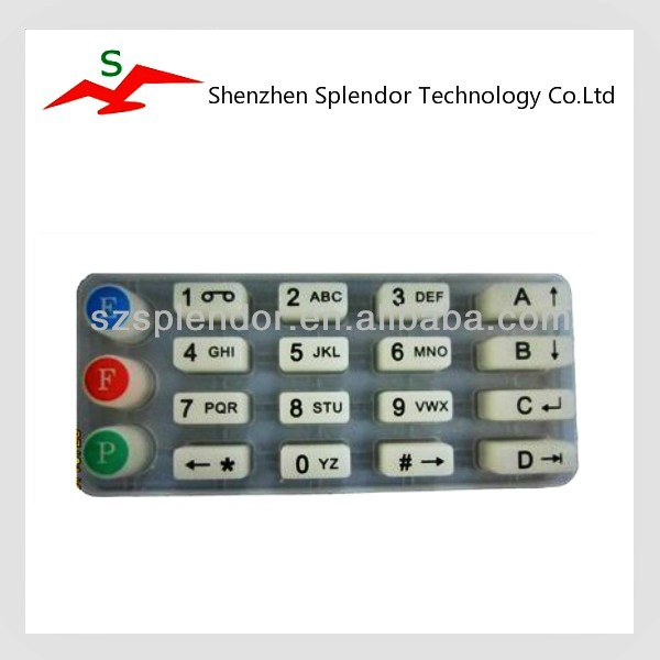 Silicone Rubber Keypad of electronic device