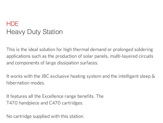 JBC Goot Solder Feed Station 250W HDE-2B