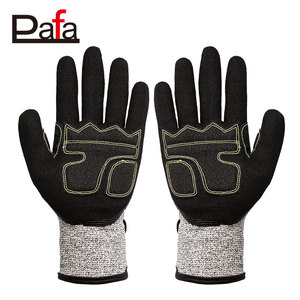 Can be custom safety higher performance cut resistant gloves