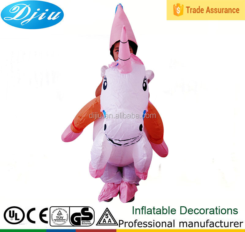 Princess Unicorn Inflatable Costume - for Adult and Kids party supplies