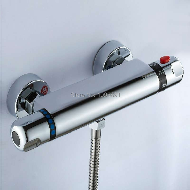 G1/2 Brass Thermostatic Mixing Valve, Solar Water Heater