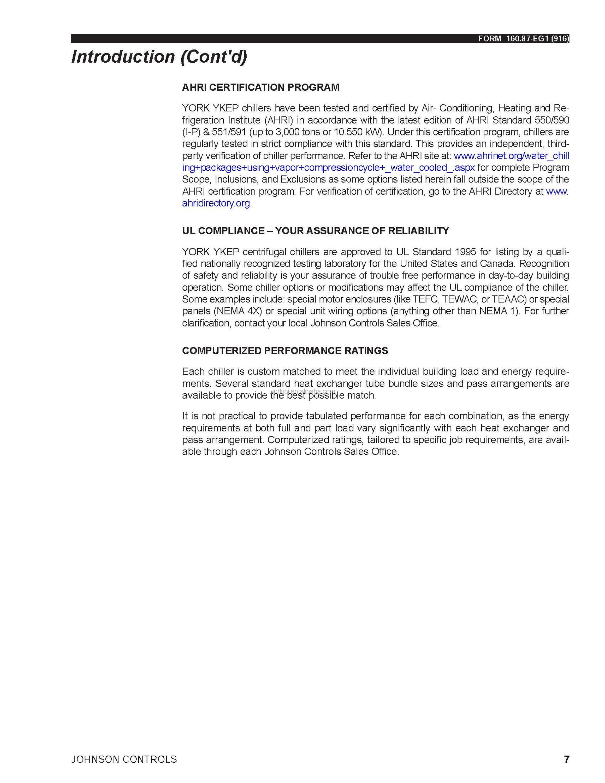 YK-EP Centrifugal Chiller with Economizer - Coowor com