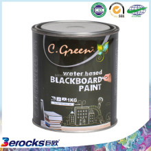 blackboard paint 1Kg ,250ml can be customized with brushes