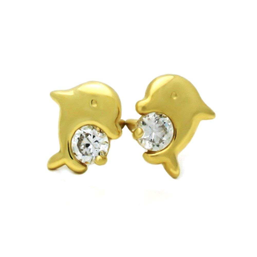 3eac6e7b5 Cheap Dolphin Earrings Gold, find Dolphin Earrings Gold deals on ...